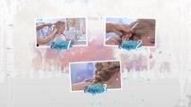 La Reine des Neiges 2 Film - Tuto - La coiffure d'Elsa