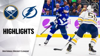 Tampa Bay Lightning vs. Buffalo Sabres - Game Highlights