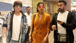 Shah Rukh Khan, Shilpa Shetty Spotted At The Airport | Ranbir Kapoor, Disha SWEET Gesture For Fans