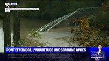 Une semaine après l'effondrement d'un pont à Mirepoix-sur-Tarn, les communes alentours prennent leurs précautions