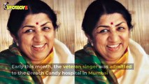 Lata Mangeshkar is still in hospital but is doing very good