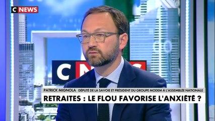 Patrick Mignola - CNews mardi 26 novembre 2019