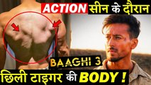 Tiger Shroff Gets Cuts While Shooting An Action Scene For BAAGHI 3!