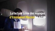 La facture salée des voyages d'Emmanuel Macron en A330