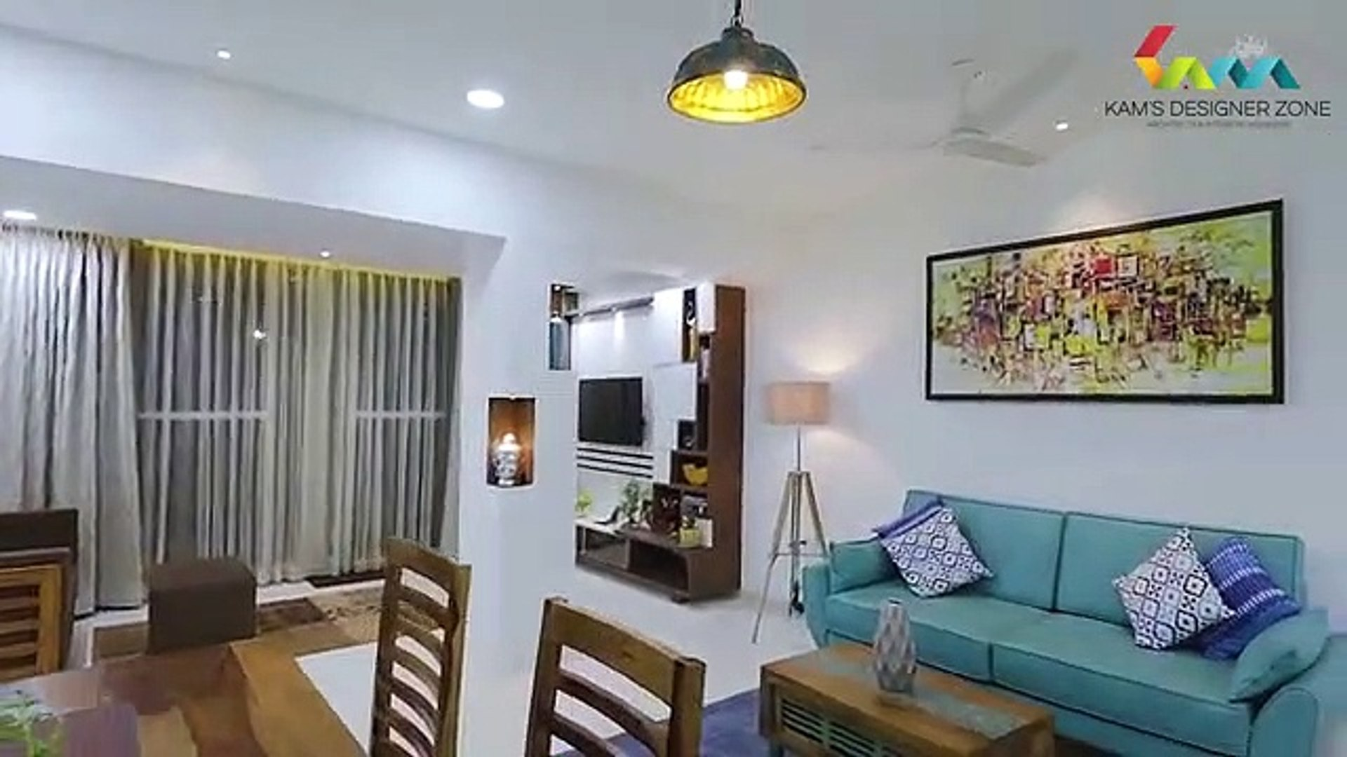 2 Bhk Apt Interior Design Cost Effective Design Simple And Beautiful Kams Designer Zone Pune Video Dailymotion