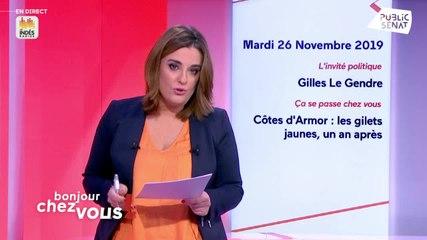 Gilles Le Gendre - Public Sénat mardi 26 novembre 2019
