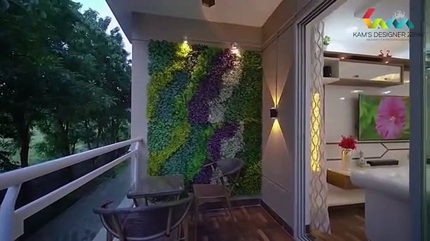 2 Bhk Flat Interiors For Mr Vivek Trivedi At Wagholi Pune Kams Designer Zone Video Dailymotion