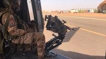 Opération Barkhane: en mission à bord d'un hélicoptère Caïman