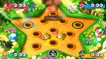 Mario Party The Top 100 MiniGames - Mario Vs Luigi Vs Peach Vs Daisy (Master CPU)