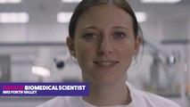 Natalie, Biomedical Scientist NHS Forth Valley