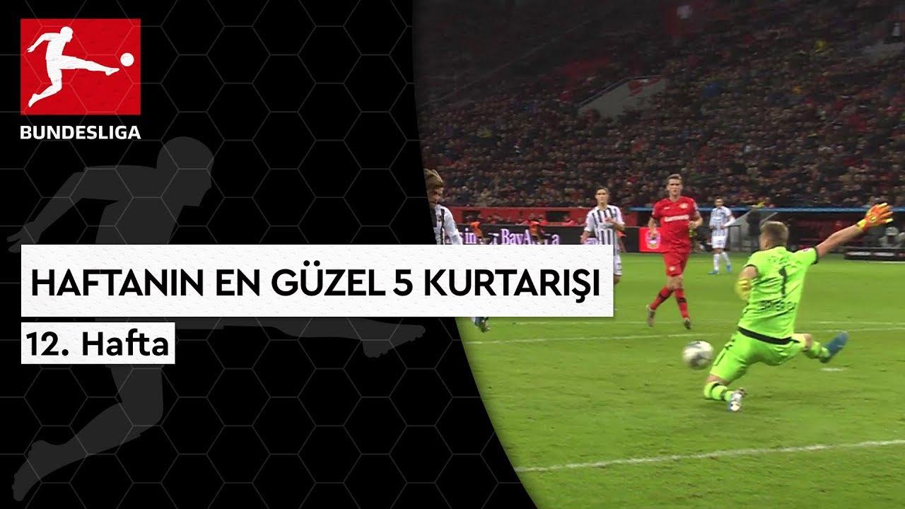Bundesliga'da 12. Haftanın En Güzel 5 Kurtarışı (2019/20)