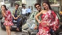 Pati Patni Aur Woh Starcast Kartik, Ananya and Bhumi Pednekar doing fun on promotion | Boldsky