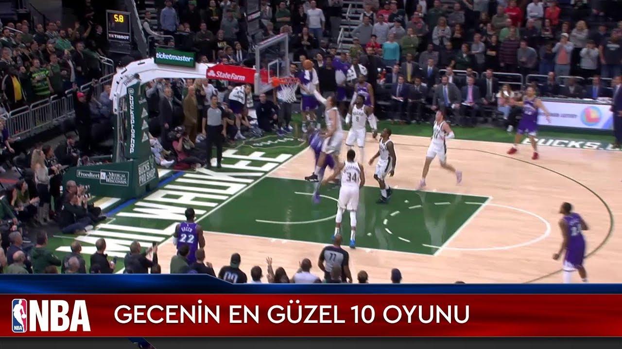 NBA'de Gecenin En Güzel 10 Oyunu | 25.11.2019