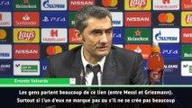 """Valverde : """"pour Messi et Griezmann, c'est une question de temps"""""""