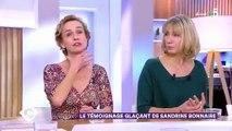 Violences conjugales : Emue, la comédienne Sandrine Bonnaire évoque l'agression dont elle a été victime il y a 20 ans - VIDEO