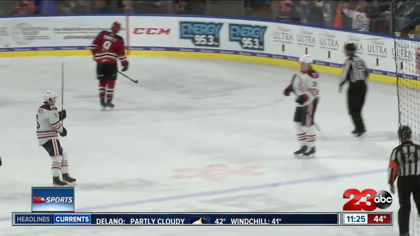 Condors get fried by Roadrunners on Thanksgiving eve