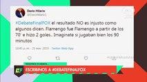 Martín Liberman se come una curva cuando analiza la final de la La Copa Libertadores donde River perdió
