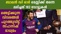 Reports In Spain Say Lionel Messi Will Win His Sixth Ballon d'Or | Oneindia Malayalam
