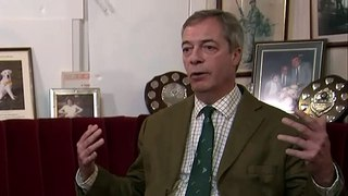 Farage: Rabbi intervention 'astonishing'
