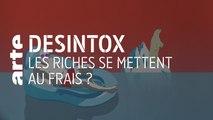Les riches se mettent au frais ? | 26/11/2019 | Désintox | ARTE