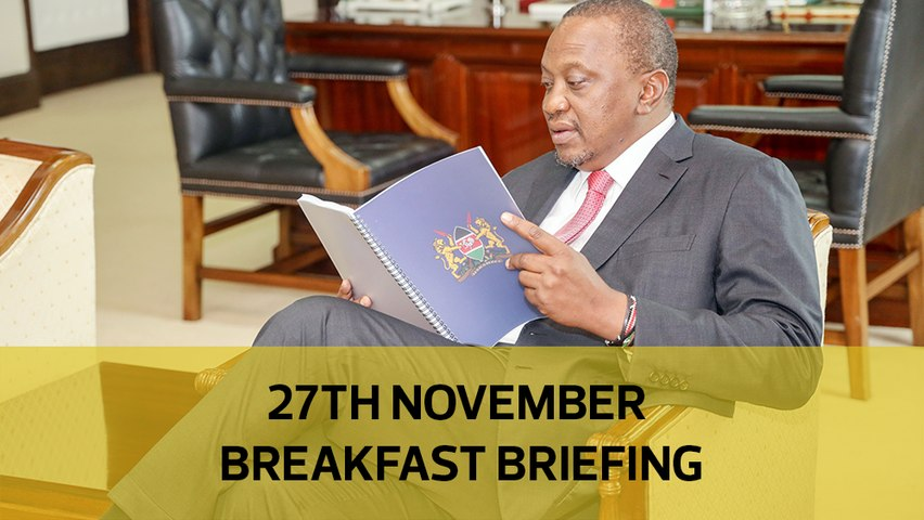 Return of Prime Minister   Kenya's pending bills struggle   EACC summons Sonko cabinet over Dandora stadium: Your Breakfast Briefing