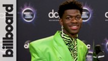 Lil Nas X Reacts to Winning AMA for 'Old Town Road' | AMAs 2019