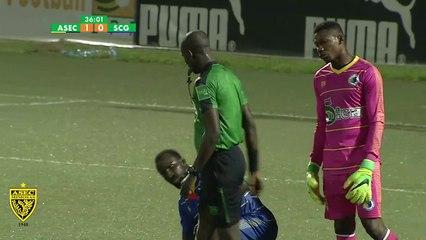 Résumé Ligue 1 / J7 / ASEC Mimosas 1 - 0 SC Gagnoa