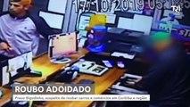 Preso 'Bigodinho', suspeito de roubar três carros no mesmo dia na região de Curitiba