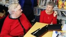 Les pensionnaires de l'Ehpad d'Is-sur-Tille découvrent l'usage d'une tablette numérique