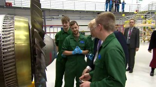 PM makes flying visit to aviation academy in marginal seat