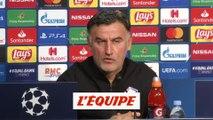 Galtier «Il faut prendre ce match avec beaucoup d'envie» - Foot - C1 - Lille