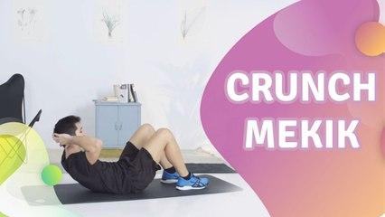 Crunch (mekik) - Sağlığa bir Adım