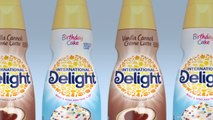 International Delight's New Birthday Cake and Vanilla Cannoli Creamers Hit Shelves in January