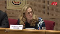 Violences conjugales: Belloubet interrogée sur le financement