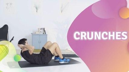 Crunches - Steg för Hälsa
