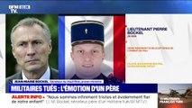 """""""Il était passionné par son métier et un soldat engagé."""" Jean-Marie Bockel, sénateur du Haut-Rhin et père de l'un des militaires tués au Mali rend hommage à son fils"""