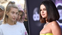 Hailey Bieber Reacts To Selena Gomez Look At The AMAs