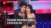 Shawn Mendes And His Concealer