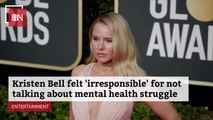 Kristen Bell On Being More Open About Her Health
