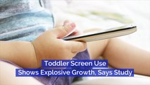 Toddler Screen Use Is Growing