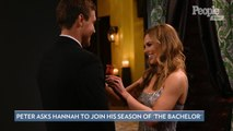 Peter Weber Asks Ex Hannah Brown to Join His Season of The Bachelor in New Promo