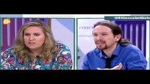 Cristina López Schlichting vs Pablo Iglesias: una tunda de escándalo al de Podemos en  televisión