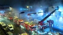İş yeri yangınında 5 kişi yaralandı