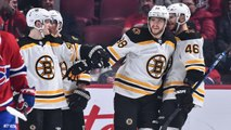 David Pastrank collects sixth career hatty in Bruins' rout