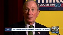 Mike Bloomberg makes Arizona early focus as he kick off campaign
