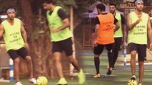 MALAIKAS BF Arjun Kapoor, Ranbir Kapoor & Others Celebs Playing  Practice Charity Football Match