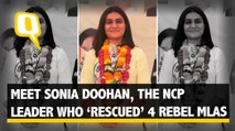 Meet Sonia Doohan, The NCP Leader Who 'Rescued' 4 Rebel MLAs