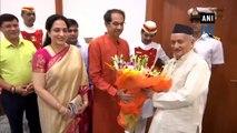 Uddhav Thackeray meets Maharashtra Governor Bhagat Singh Koshyari