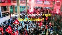Grève du 5 décembre : à quoi faut-il s'attendre ?