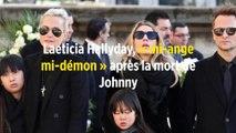 Laeticia Hallyday, « mi-ange mi-démon » après la mort de Johnny